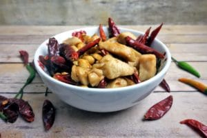 Spicy Kung Pao Chicken - Homemade Chinese Takeout Dishes