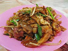 Char Kway Teow (photo from Wikipidia)