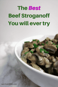 The Best Beef Stroganoff you will ever try!
