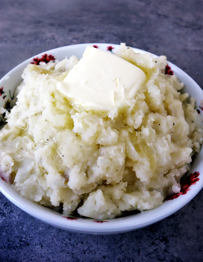 how to make mashed potatoes more creamy
