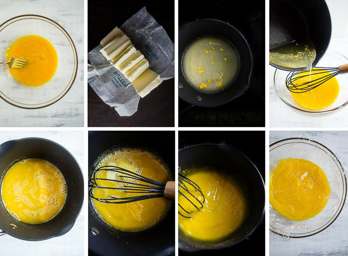 step by step instructions to make lemon curd