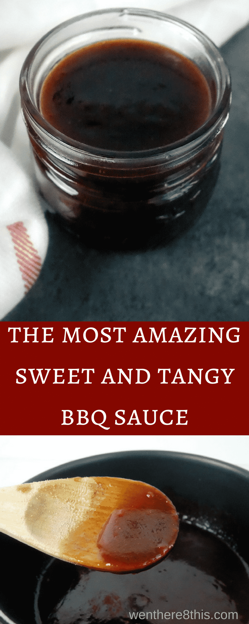 This smoky sweet and tangy barbecue sauce recipe is super simple to make, with only 7 ingredients and a cook time of 5 minutes. You'll never use another sauce!homemade BBQ sauce | best BBQ sauce | barbecue sauce recipe | sweet BB sauce | tangy BBQ sauce | easy barbecue sauce | how to make barbecue sauce | brown sugar BBQ sauce | southern BBQ sauce | BBQ sauce for ribs | BBQ sauce for chicken