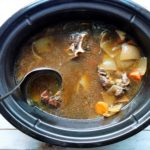 How to Make Beef Broth in the Slow Cooker