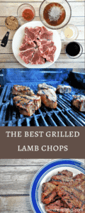The Best Marinated Grilled Lamb Chops