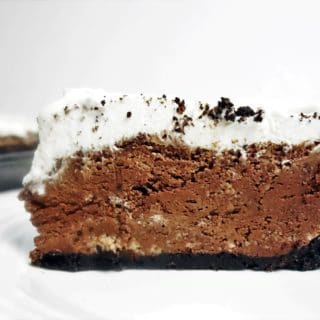 Decadent Fluffy Chocolate Pie with Fresh Made Whipped Cream