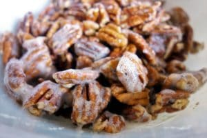 Easy to Make Spiced Candied Pecans