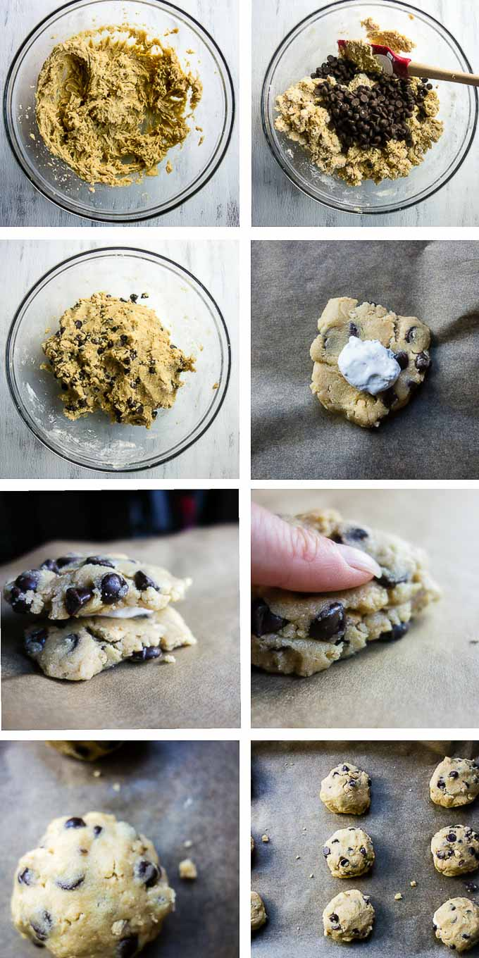 step by step photos of making cookies
