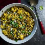 Mexican Chorizo Stuffing with Poblano Peppers