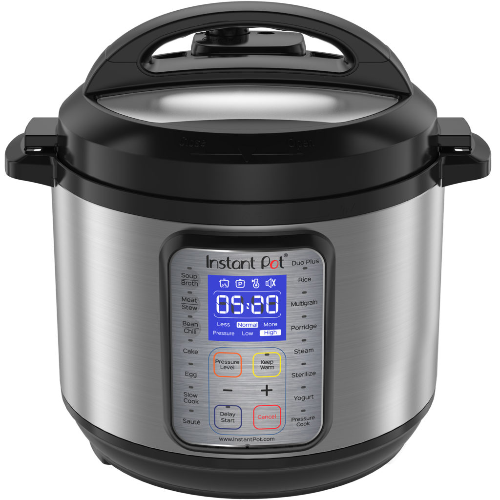 photo of instant pot from front