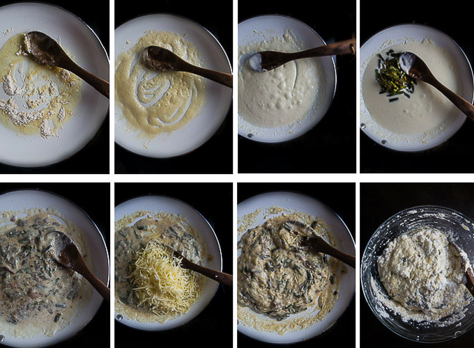 step by step instructions for bechamel