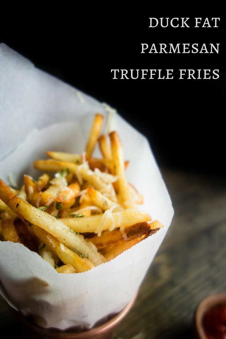 Duck Fat Parmesan Truffle Fries with Truffle Mayonnaise ...