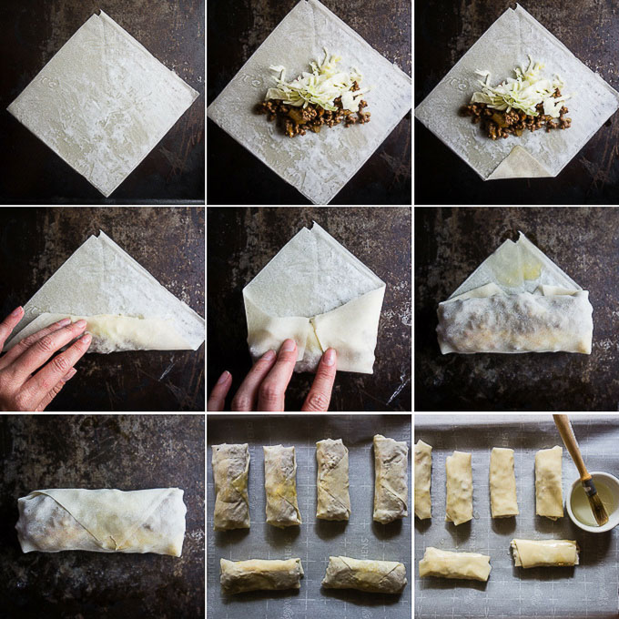 step by step guide to making egg rolls