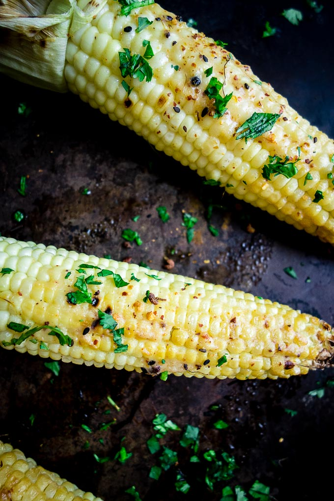 corn with seasoning