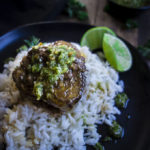 Instant Pot Braised Beef Short Ribs (Brazilian Style) with Chimichurri
